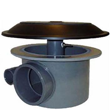 Aerated bottom drain 110 mm
