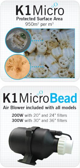 K1 MicroBead fliteronderdelen